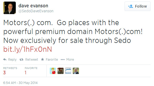 Domain Very Likely Sold At