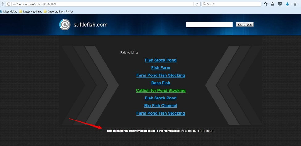 SuttleFish.com Screen Shot